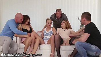 Friends on orgy