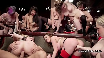 Orgy bdsm party with hardcore fucking