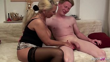 MOTHER JENNY TEACH HUGE COCK STEP SON TO FUCK ANAL German