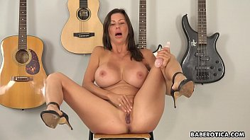 Solo milf, Alexis Fawx is masturbating all day, in 4K