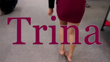 Trina's Trying on Shoes Sexy Toes Part 1- www.prettyfeetvideo.com
