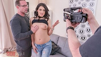 VIP SEX VAULT - Fantastic Casting Sex With A Real Hot Serbian Brunette Coco De Mal