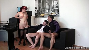 Sexy office mature lady