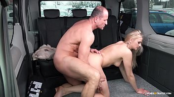 VIP SEX VAULT - Steamy outdoor car sex with hot Czech blonde Katie Sky