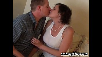 Real amateur couple homemade hardcore action
