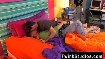Sexy twinks in lingerie get down Teen studs are just filled with