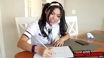 Young Asian Cindy Starfall Facialized After Relentless Plow