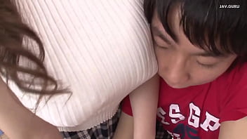Japanese teacher blows her student at home