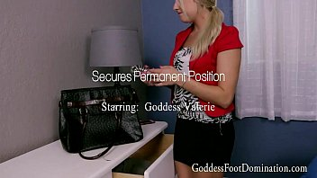 Secures Permanent Position With Goddess Valerie