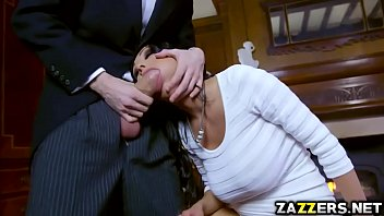 Patty Michova gives Danny D a hot and wet blowjob