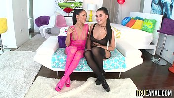 TRUE ANAL Anal threesome with Adriana and Megan