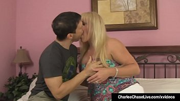 Brunette Milf Charlee Chase Shares Hubby With Alexis Golden!