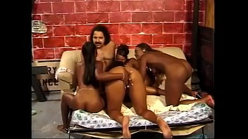 Turkish man is banged by four lonely ebony beautiful ladies