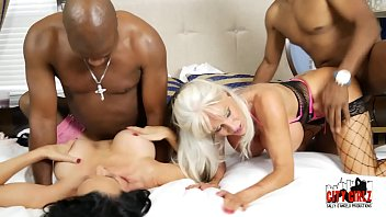 Our Anal BLACK BUDDIES Sally D'angelo Rita Daniels