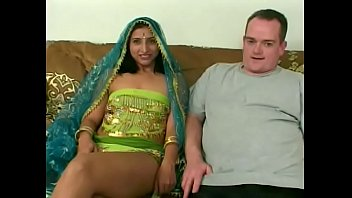 Young Indian chick get nailed on the couch