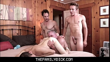 Family dick Twink boy stepson marcus rivers family pounding by stepdad, grandpa dale savage and stepbrother