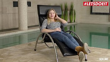 HER LIMIT - #Vyvan Hill #Mike Angelo - Serbian Teen Rough Anal Pounding By The Pool