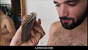 Straight Amateur Latino Hunk Paid 10,000 Pesos To Get Fucked By Gay Film Maker POV