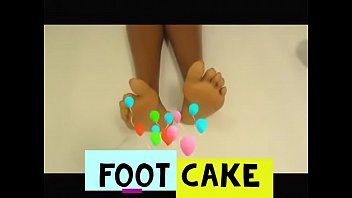 Sexy vanilla feet Foot cake