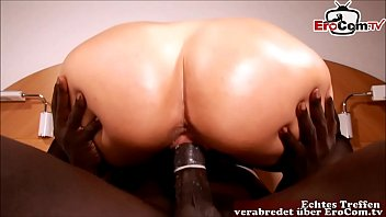 german blond amateur milf with big ass fuck from big black cock