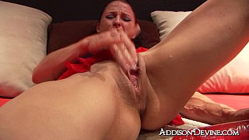 Female penis ejaculation Addison squirts