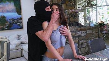 BANGBROS - Neglected Lana Rhoades Gets Fucked By An Intruder