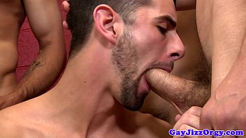 Unmerciful gay hunks getting cock sucked by gay mince