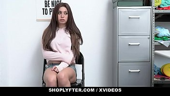 Porn movie pantie thief fucked Shoplyfter - cute girl caught stealing bribes security