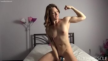Fit redhead Charlotte masturbates her wet pussy