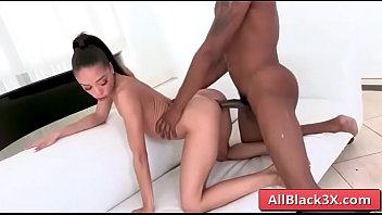 Ebony Alexis Tae sucking huge black dick and gets annaly fucked by Isiah Maxwell
