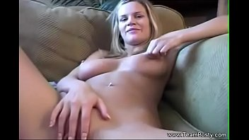 Sticky Fingers For Amateur Busty Housewife