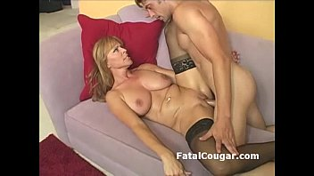 Mature natural blonde - Blonde cougar slut takes pussy pounding with pussy2mouth and messy cumshot