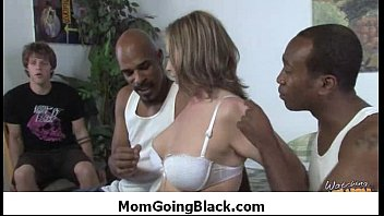 Interracial Sex : Monster black dong fucks white mature pussy 18