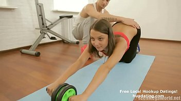 Fit Girl Sex With Her Trainer