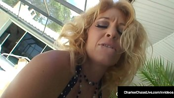 Charlee Chase Puma Swede & Vicky Vette Eat Pussy By The Pool