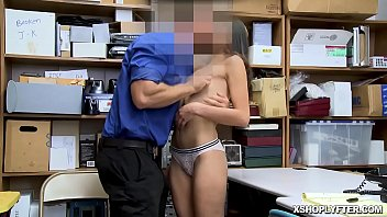 Emily Willis got her shaved pussy spread eagle fuck by the LP Officer!