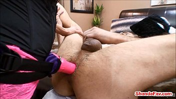 Hot MILF Shanda Fay Pegs Man In His Ass With A HUGE Vibrator! Preview