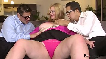 Kali Kala Lina Banking on a BBW HD; group, bbw, blonde, facials, pornstar, blowjob, doggy, big-tits,
