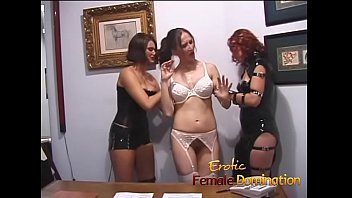 Fetish abduction Three mistresses abduct busty pamela and make her a slave forever