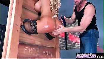 (Bridgette B) Superb Girl With Big Round Butt Love Deep Anal Sex clip-14