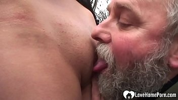 This hottie will suck his hard cock, and after an oral she will get fucked.