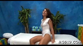 Hot hottie massages dick with lips