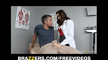 Porn in doc office Sexy brunette doctor holly michaels gives her patient a check up
