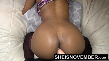 HD Model Msnovember Fat Penis Dildo Mounted Doggy Style Wild Solo Fuck Her Young Tight Skinny Girl black, Vagina Webcam Sheisnovember