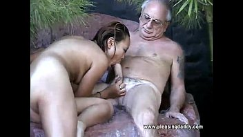 Older sluts sucking - Uncle jesse gets his cock sucked by asian slut