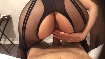 Hot POV sex with sexy latina in lingerie Makes me cum inside her