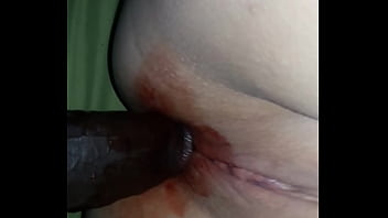 Throbbing anus blood - Popped her cherry