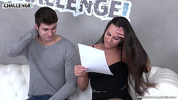 Melonechallenge One cumshot is not enough for young horny guy with Mea Melone
