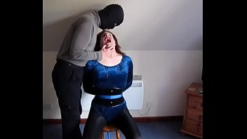 Sissy humiliation transvestite Alices spit ordeal