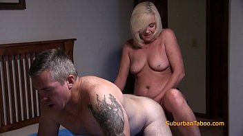 I fucked daddy with my strap-on Our daddy gets fucked and sucks